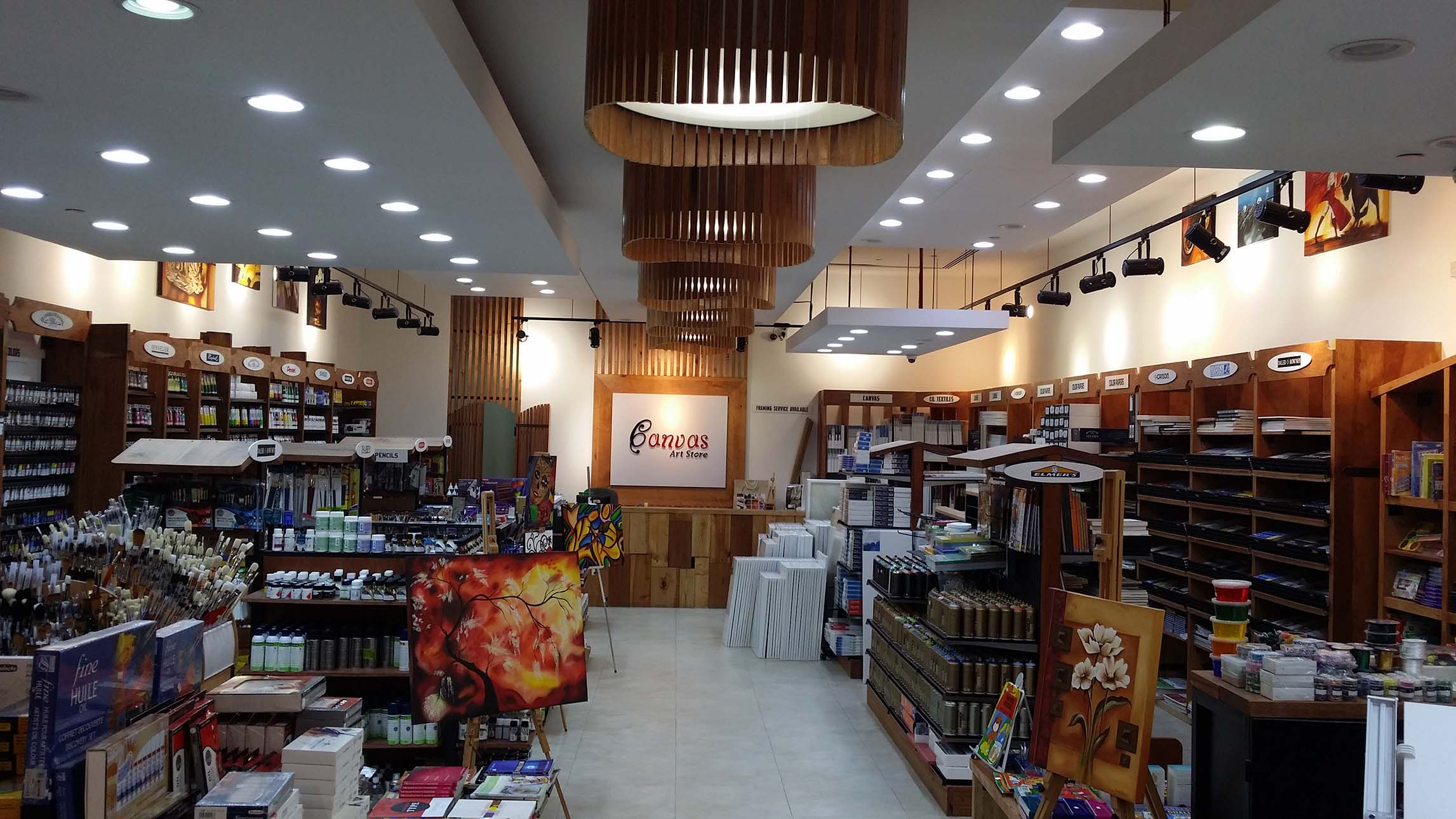 Canvas Art Store Is On Of The Leading Art Stores In GCC.